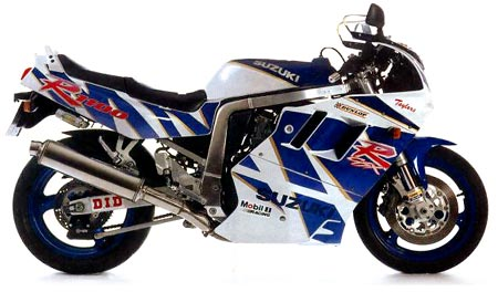1989-1992 Suzuki GSX-R1100 Service Manual