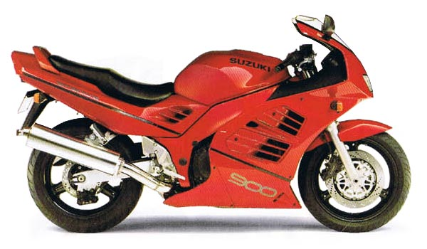 1995-1997 Suzuki RF900R Service Manual