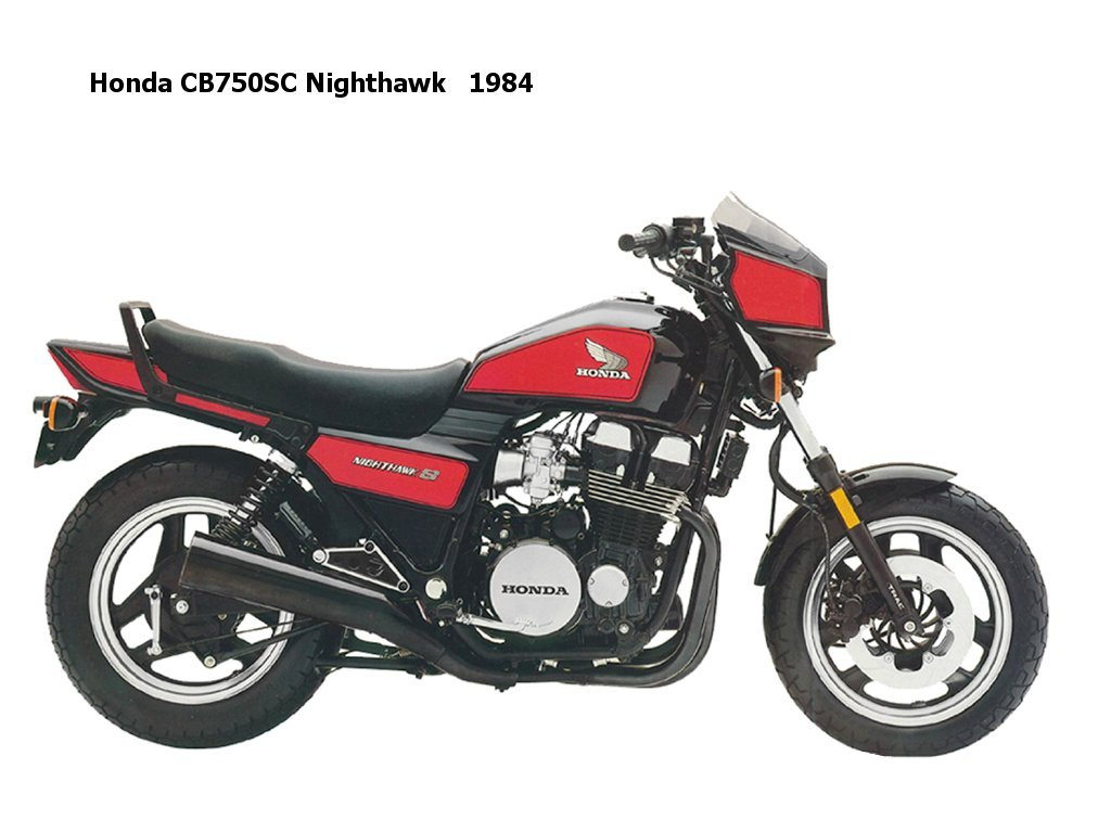 1982-1984 Honda CB750SC Nighthawk Service Manual
