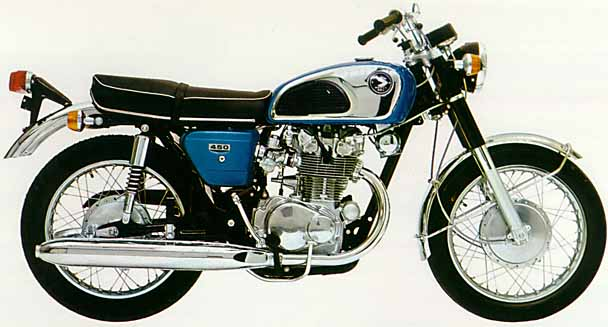 1965-1977 Honda CB450 V-Twin Service Manual