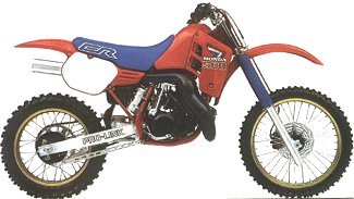 1986-1998 Honda CR250R & CR500R Engine Service Manual
