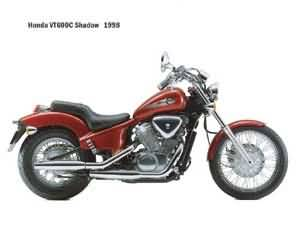 1988 Honda Shadow VT600c Custom Service Manual