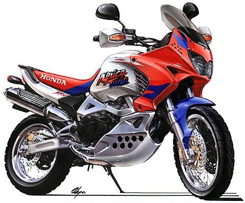 1987-2002 Honda XRV750 Africa Twin Service Manual